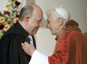 Pope Benedict meets the Head of Evangelical Church in Germany