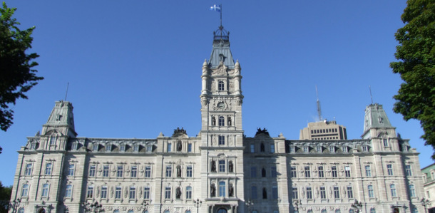 Quebec National Assembly - Credit: Christophe Finot/Wikimedia Commons