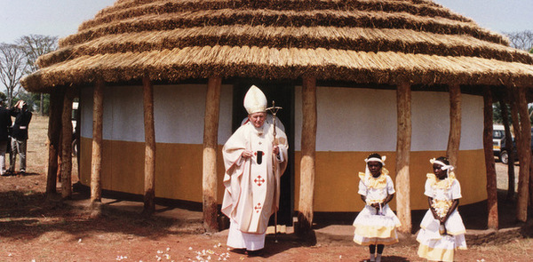 Remember when Pope John Paul II visited Uganda and Kenya?