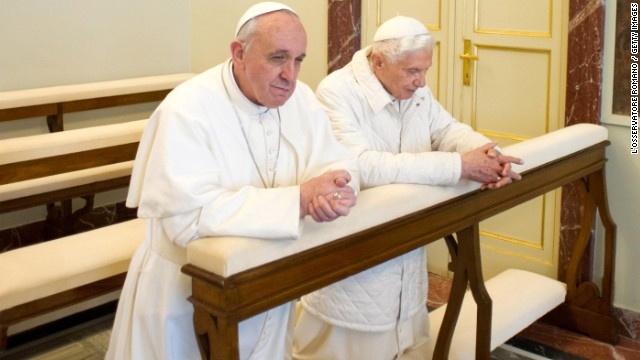 Popes Praying 2