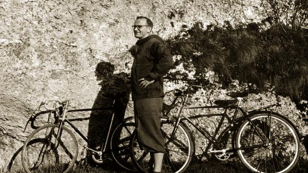 FATHER KAROL WOJTYLA PICTURED DURING 1950s