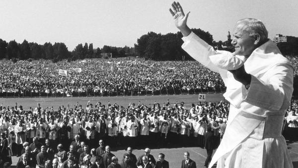 Image result for pope john paul 11 visit poland