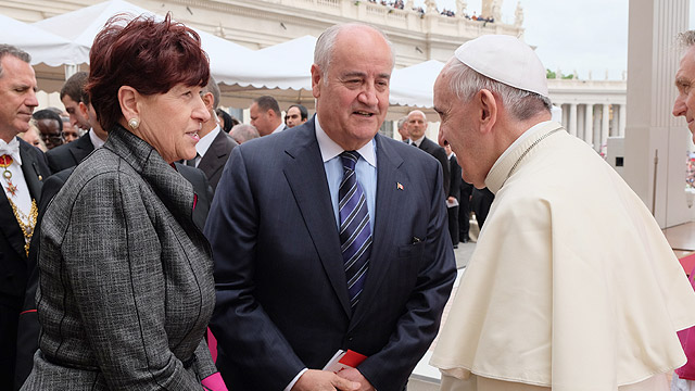 Minister-Fantino-with-Pope-Francis