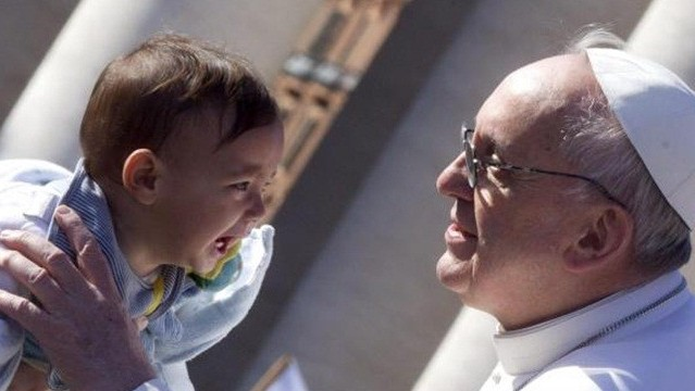 Pope Francis Baby 1