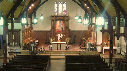 anglican use mass - sacre coeur