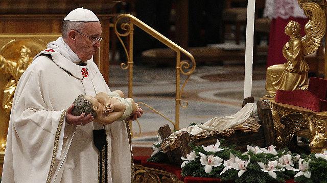 Pope Francis Christmas
