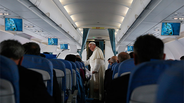 The Politics of Papal Travel – The Free Speech Edition