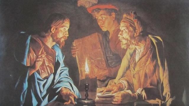 Jesus and Nicodemus cropped