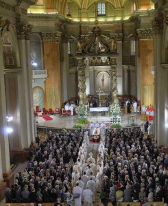 Cardinal Turcotte Funeral Cathedral