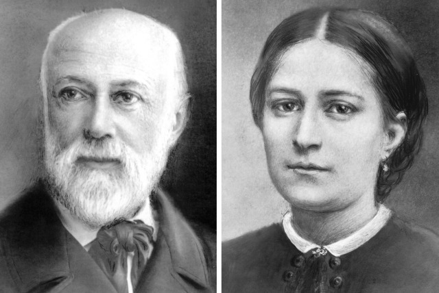 COMBINATION PHOTO SHOWS PARENTS OF ST. THERESE OF LISIEUX