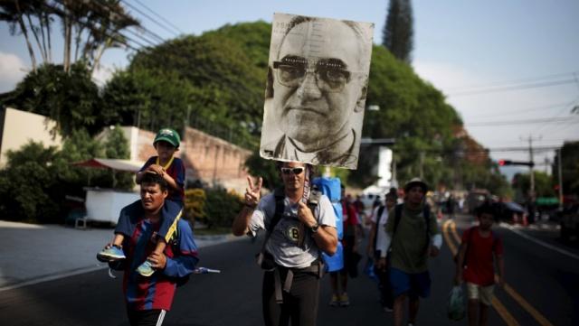 Romero pilgrims