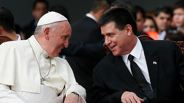 Pope_Paraguay_Corps