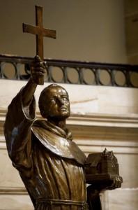 Serra in US Capitol Statuary Hall 2