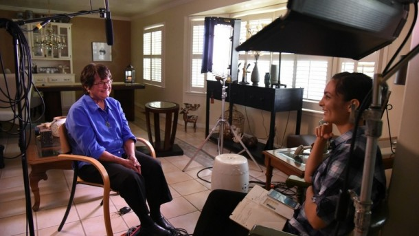 Cheridan Sanders interviews Sr. Helen Prejean for upcoming documentary featuring inspiring women of faith.