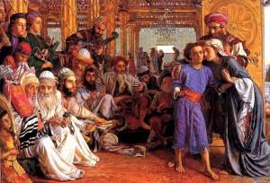 Child Jesus in Temple
