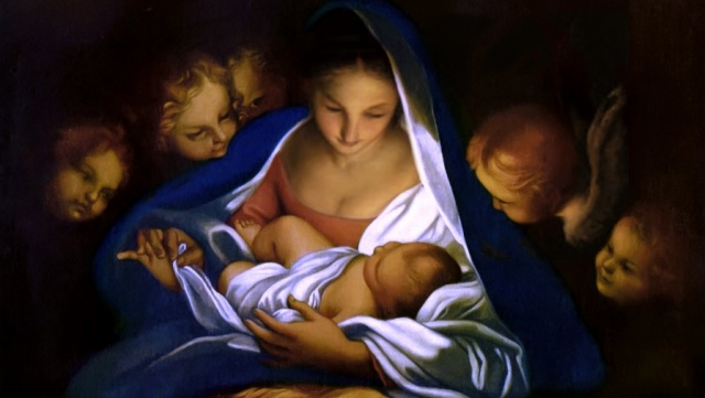 Madonna and Child cropped