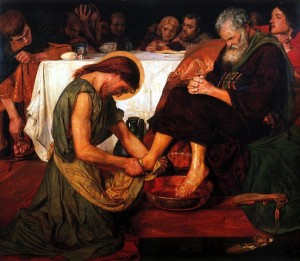 Jesus washing feet Maddox 1876 2