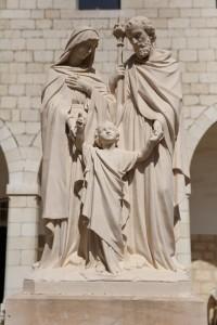 Holy Family Statue Nazareth