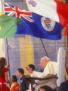JP II WYD 2002 flags Wittman copy