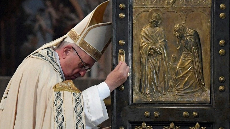 Homily of Pope Francis for Solemnity of Christ the King of the Universe and Closing of the Jubilee Holy Year of Mercy