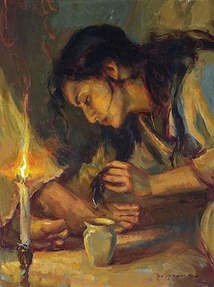 woman-anointing-jesus-feet-bethany
