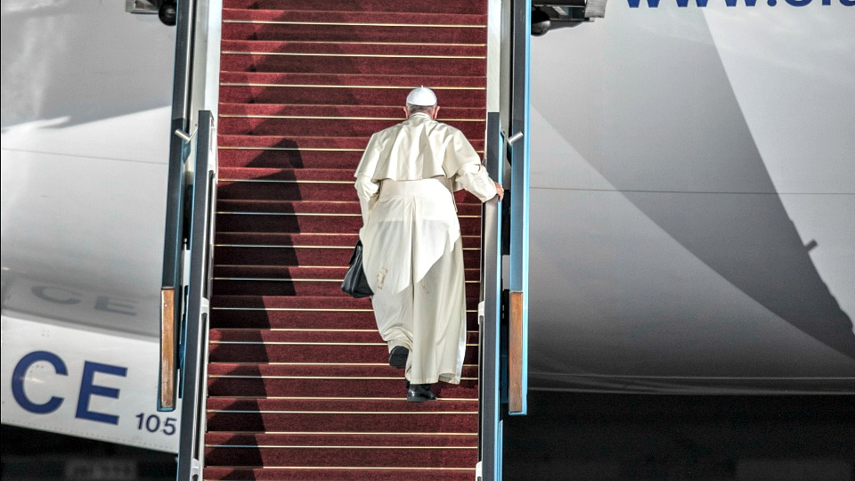 Pope Francis is off to Milan!