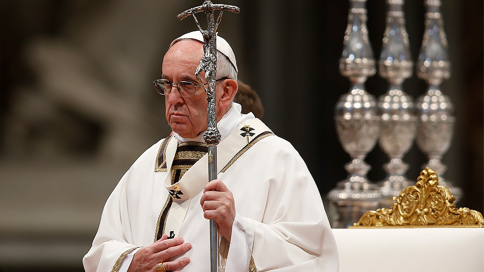 Pope Francis' Homily at Holy Thursday Chrism Mass