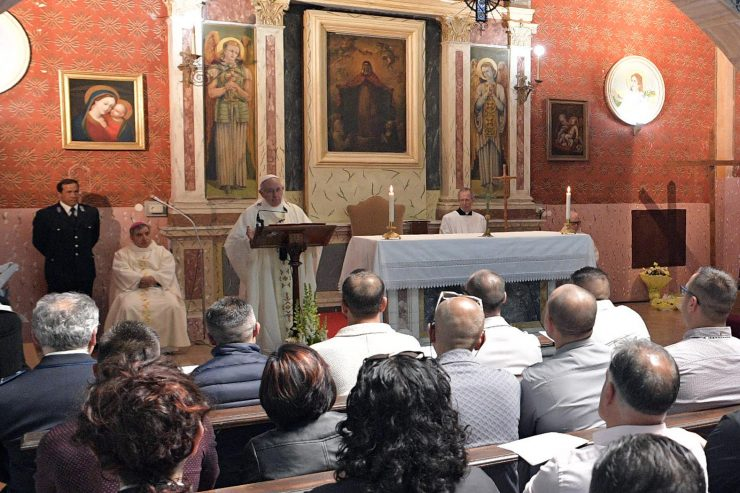 Pope Francis' Holy Thursday Homily at Paliano Prison