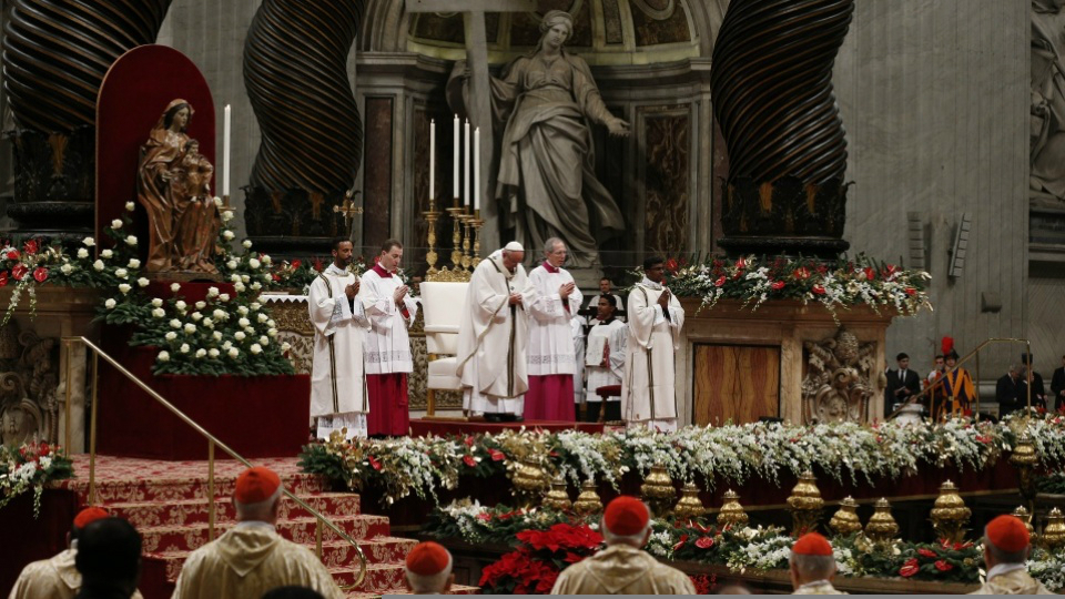 Pope Francis' Homily from Christmas Eve Mass at the Vatican