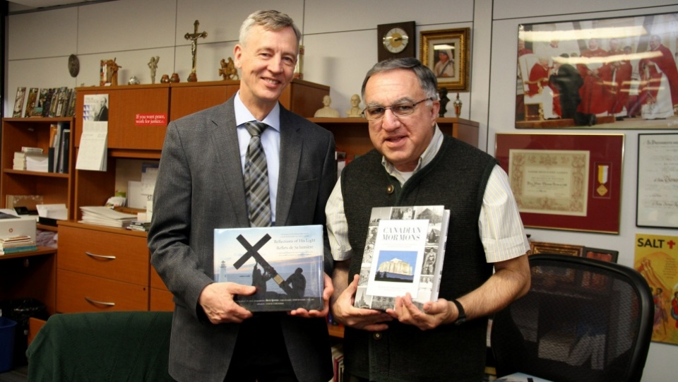 Mormons Meet with Father Thomas Rosica in Toronto
