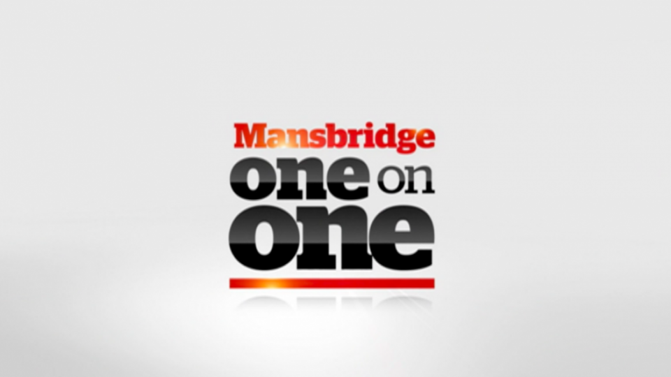 Father Thomas Rosica: Mansbridge One on One