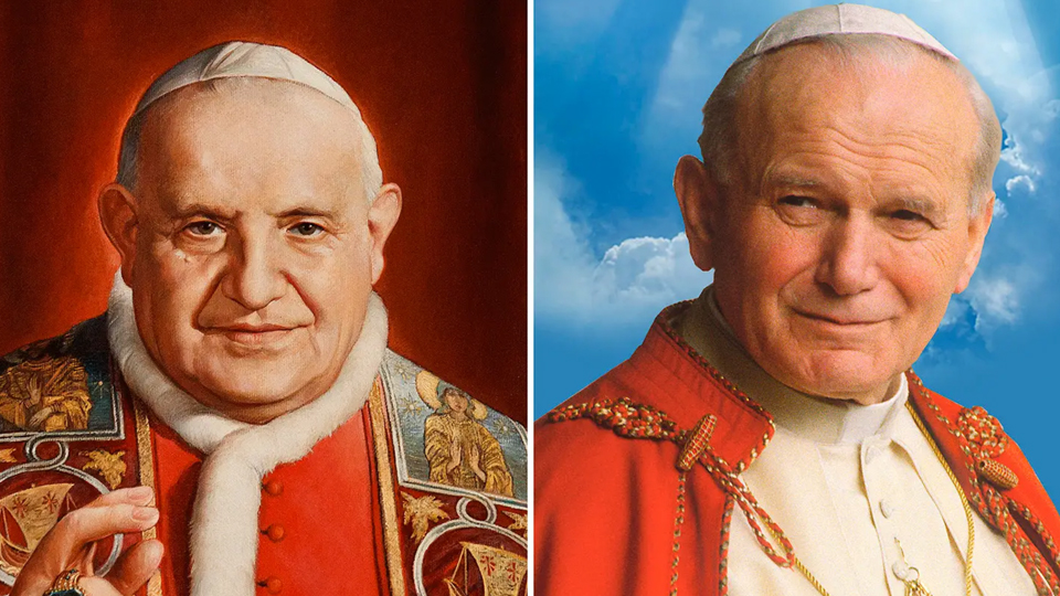 Video of the Ceremony of Canonization for John Paul II and John XXIII