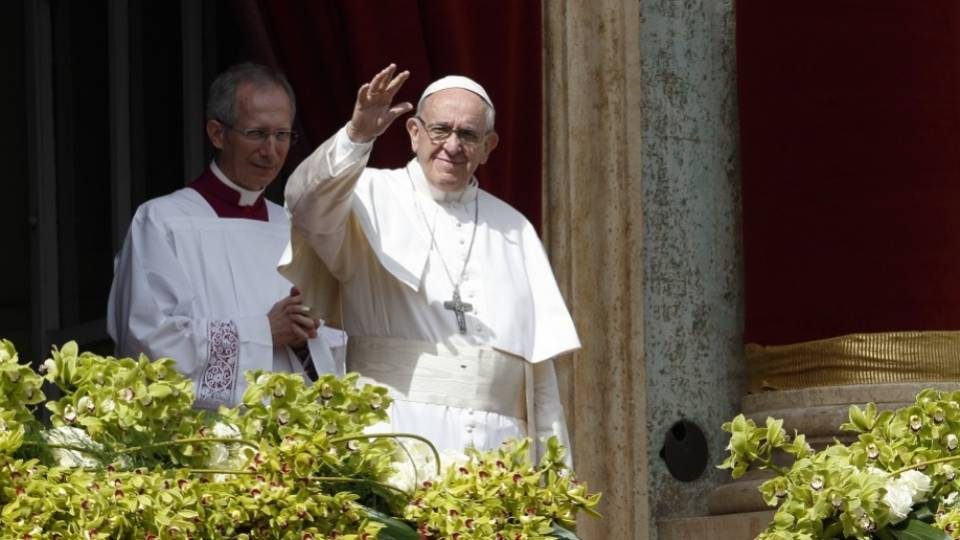 "Easter Sunday Homily of Pope Francis and the "" Urbi et Orbi"" Blessing"