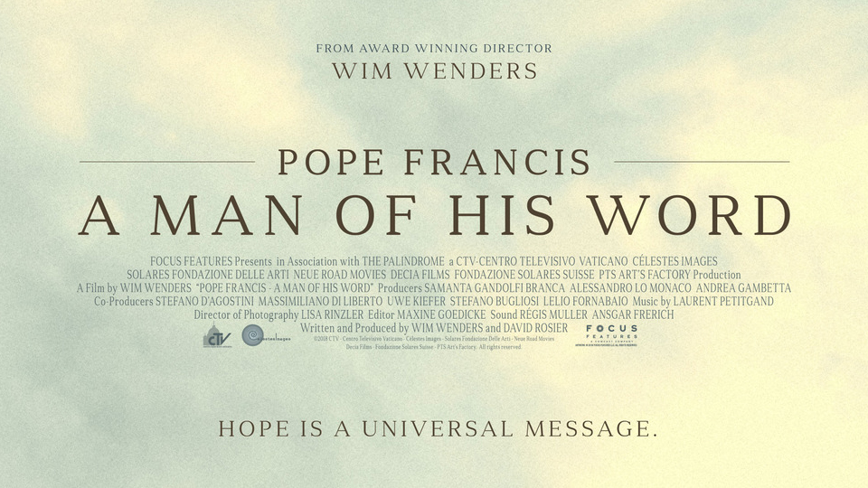 """Pope Francis – A Man of His Word"" Movie Review"