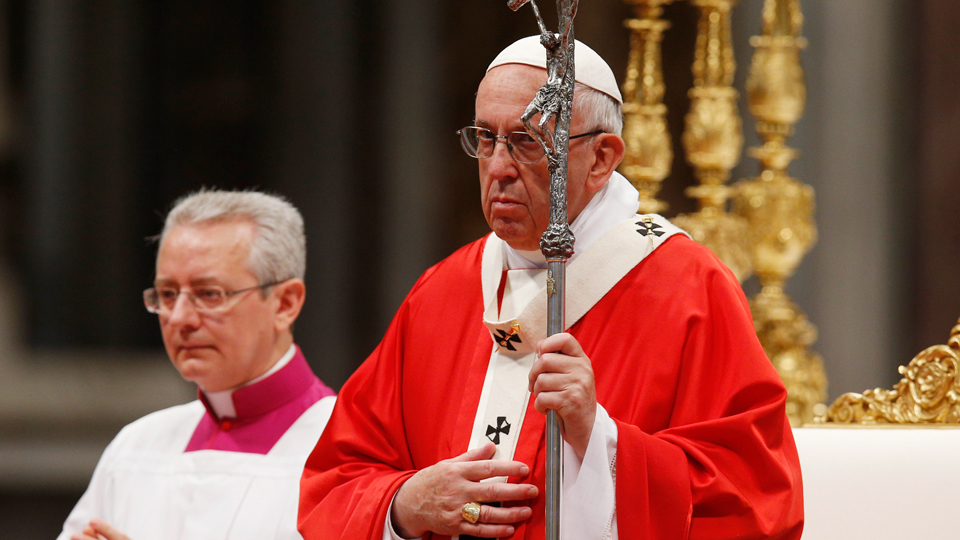 Homily of Pope Francis for the Solemnity of Pentecost