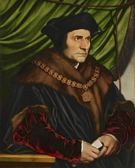 Sir Thomas More, by Hans Holbein the Younger (Source: Wikimedia Commons/The Frick Collection)
