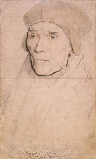 Portrait of Bishop John Fisher, by Hans Holbein the Younger (Source: Wikimedia Commons/The Royal Library, Windsor)