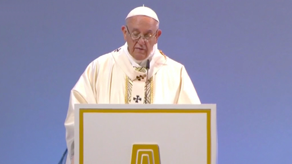 Pope Francis' homily at Mass in Geneva