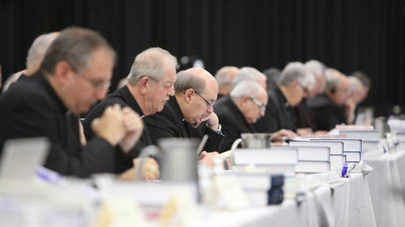 Canadian bishops at annual plenary meeting