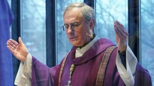 Bishop Fabbro at Mass
