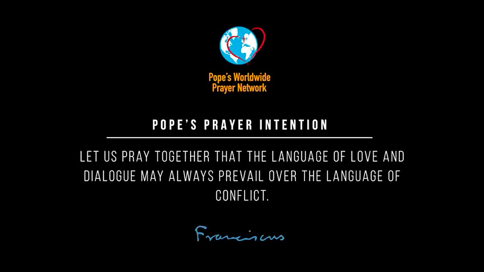 Pope Francis' Prayer Intentions for November 2018