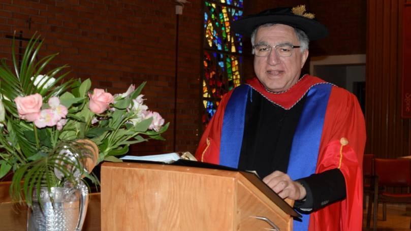 Regis College honours S+L CEO, Fr. Thomas Rosica, CSB