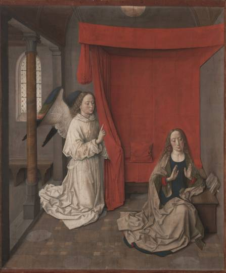 The Annunciation by Dieric Bouts