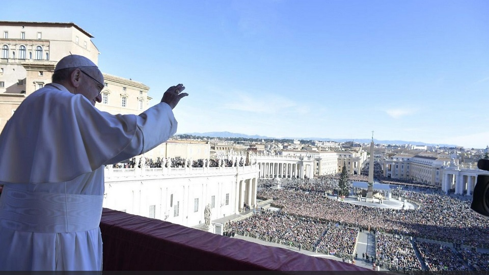 """Urbi et Orbi"" Address of Pope Francis for Christmas Day 2018"