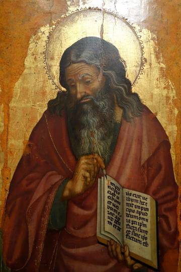 Saint John the Evangelist by Donato de' Bardi