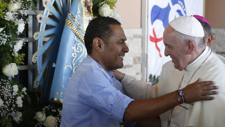WYD Panama 2019: Pope Francis speaks to HIV patients