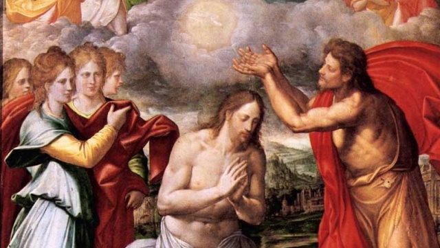 Baptism of Christ by Navarrete el Mudo