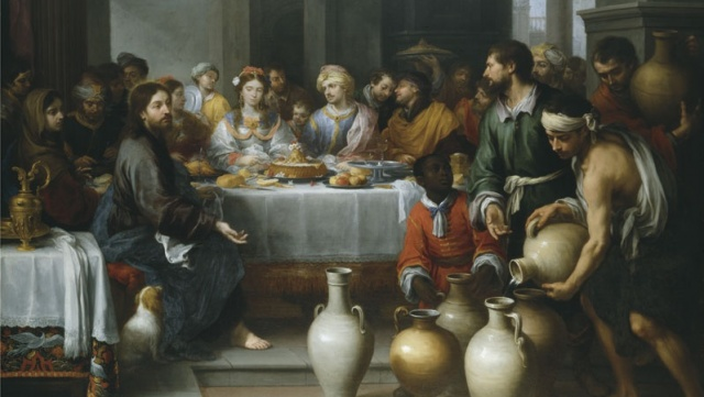 The Wedding at Cana by Bartolomé Esteban Murillo