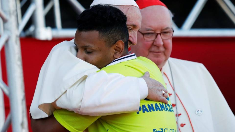 WYD Panama 2019: Pope Francis speaks to WYD volunteers