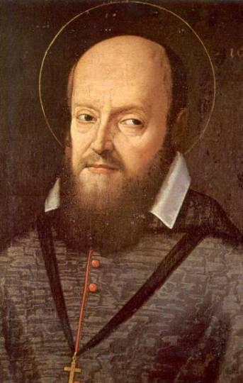 Portrait of St. Francis de Sales